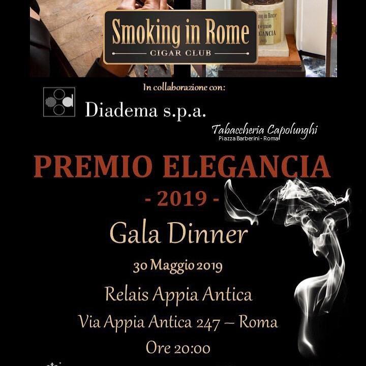 30 MAGGIO 2019 PREMIO ELEGANCIA (ROMA)