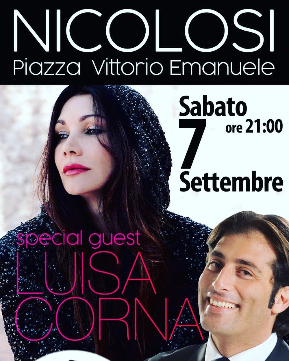 """7 SETTEMBRE 2019 """"ETNA GLAMUR 2019"""" A NICOLOSI (SICILIA)"""