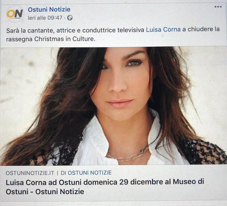 29 DICEMBRE 2019 AL MUSEO DI OSTUNI (PUGLIA)