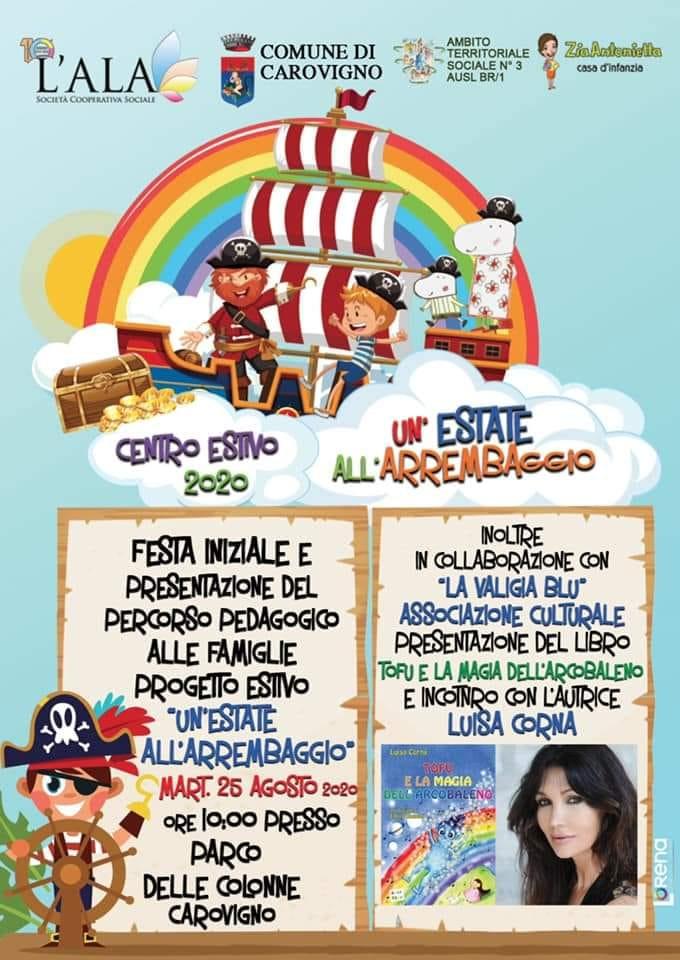 25 AGOSTO 2020 CAROVIGNO PUGLIA  (PARCO DELLE COLONNE) ORE 10.00